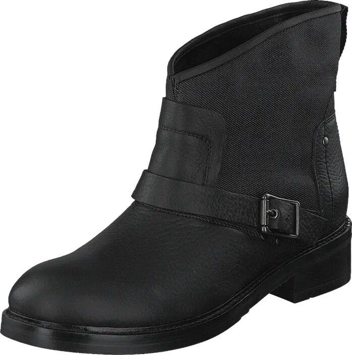 G-Star Raw Leon Boot Black, Kengät, Bootsit, Korkeavartiset bootsit, Musta, Naiset, 35