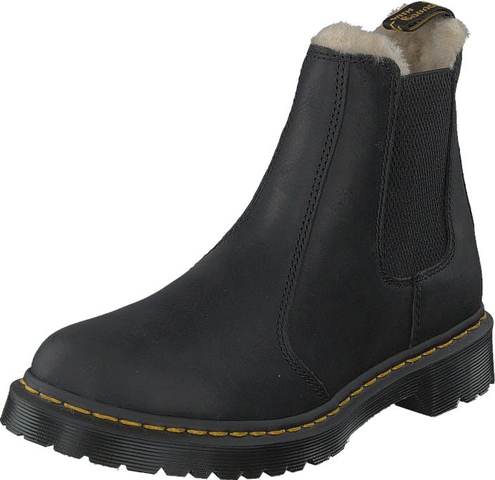 Image of Dr Martens Leonore 21045001 Black, Kengät, Bootsit, Chelsea boots, Musta, Naiset, 37