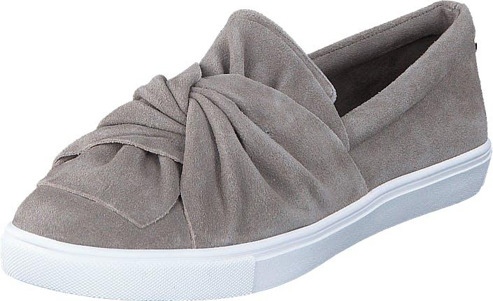Steve Madden Knotty-R1 Grey Suede, Kengät, Matalapohjaiset kengät, Slip on, Harmaa, Naiset, 36