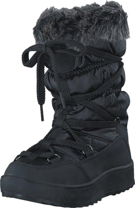 Eskimo Tilly Black, Kengät, Bootsit, Lämminvuoriset kengät, Musta, Lapset, 28