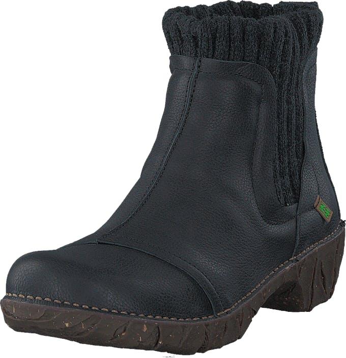 Image of El Naturalista NE23 Yggdrasil Black, Kengät, Bootsit, Chelsea boots, Musta, Naiset, 38