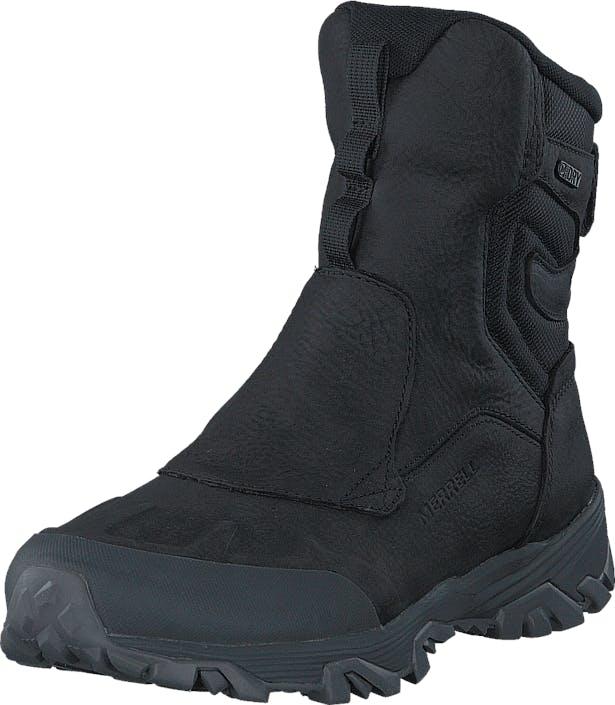 """Merrell Coldpack Ice+ 8"""" Zip Polar WTPF Black, Kengät, Bootsit, Korkeavartiset bootsit, Musta, Miehet, 43"""
