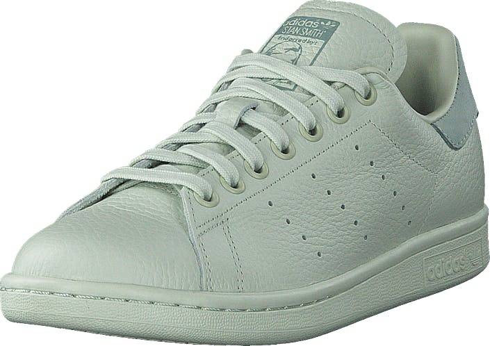 Image of Adidas Originals Stan Smith Linen Green S17/Linen Green S1, Kengät, Sneakerit ja urheilukengät, Urheilukengät, Harmaa, Naiset, 40