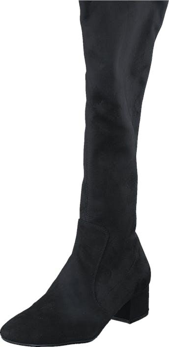 Billi Bi 500 Black Suede Stretch Black, Kengät, Saappaat ja Saapikkaat, Saappaat, Musta, Naiset, 36