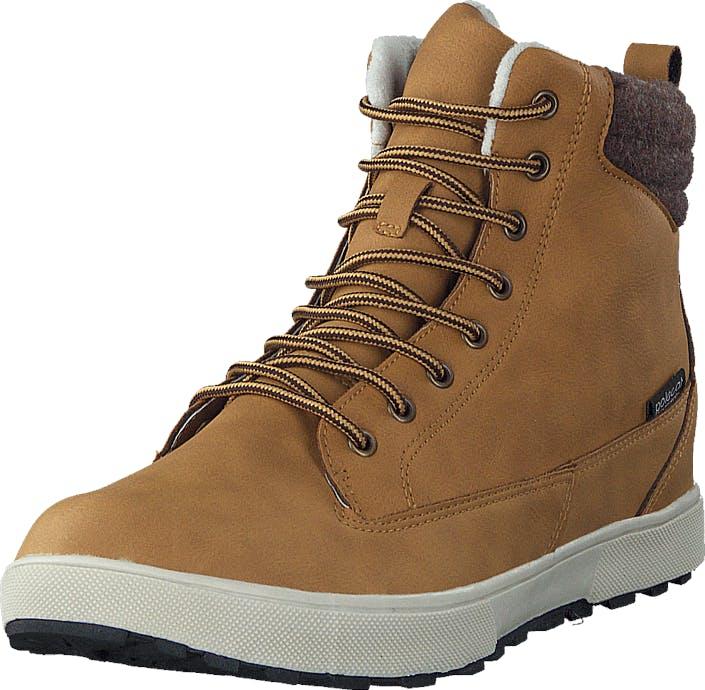 Polecat 430-3957 Waterproof Warm Lined Yellow, Kengät, Bootsit, Kengät, Ruskea, Unisex, 45