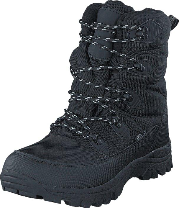 Polecat 430-9924 Waterproof Warm Lined Black, Kengät, Bootsit, Lämminvuoriset kengät, Musta, Unisex, 43