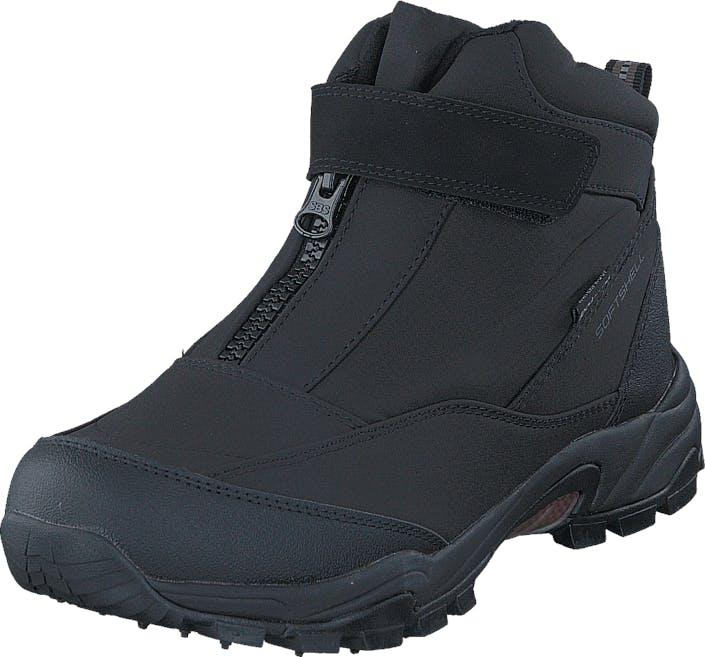 Polecat 430-0871 Waterproof Warm Lined Black ICE-Tech Studs, Kengät, Bootsit, Vaelluskengät, Musta, Unisex, 36