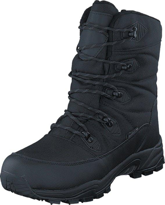 Polecat 430-0199 Waterproof Warm Lined Black ICE-Tech Studs, Kengät, Bootsit, Lämminvuoriset kengät, Musta, Unisex, 44