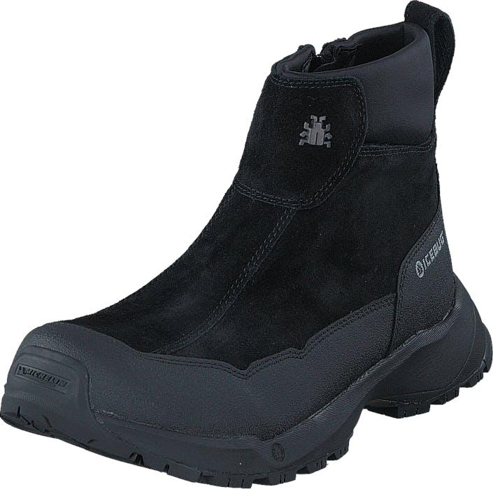 Icebug Metro W Michelin Wic Black, Kengät, Bootsit, Curlingkengät, Musta, Naiset, 37