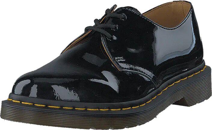 Image of Dr Martens 1461 Black Patent, Kengät, Matalapohjaiset kengät, Juhlakengät, Harmaa, Naiset, 38