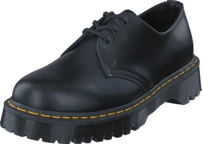 Image of Dr Martens 1461 Bex Black, Kengät, Matalapohjaiset kengät, Juhlakengät, Musta, Harmaa, Unisex, 44