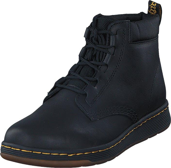 Image of Dr Martens Telkes Black, Kengät, Bootsit, Vaelluskengät, Musta, Naiset, 38