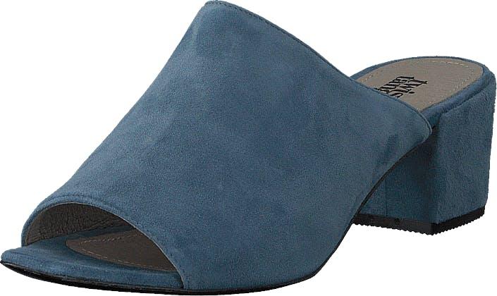 Twist & Tango Vienna Mules Steel Grey, Kengät, Korkokengät, Matalakorkoiset sandaalit, Sininen, Turkoosi, Naiset, 36