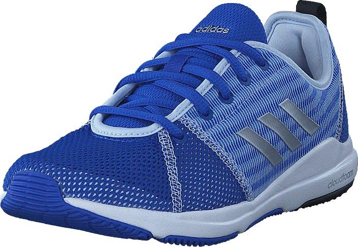 Adidas Sport Performance Arianna Cloudfoam Hi-Res Blue S18/Met/Aero Blue, Kengät, Sneakerit ja urheilukengät, Urheilukengät, Sininen, Naiset, 38