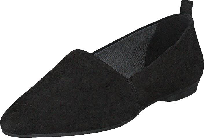 Vagabond Sandy Black, Kengät, Matalat kengät, Loaferit, Musta, Naiset, 37