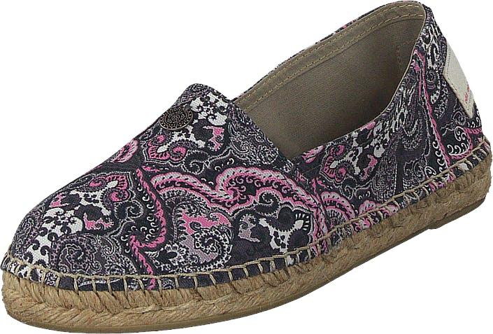 Image of Odd Molly Oddspadrillos Print Almost Black, Kengät, Matalapohjaiset kengät, Slip on, Ruskea, Naiset, 37