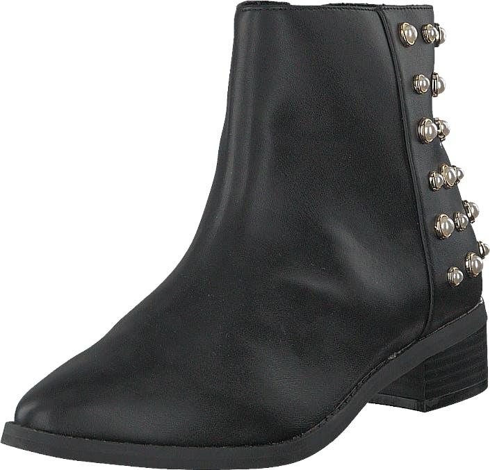 Vero Moda Vmkelina Boot Black, Kengät, Bootsit, Korkeavartiset bootsit, Harmaa, Naiset, 36
