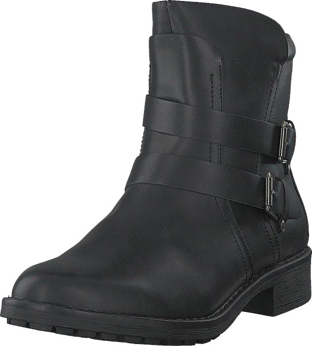 Vero Moda Vmvilma Biker Boot Black, Kengät, Bootsit, Korkeavartiset bootsit, Musta, Naiset, 36