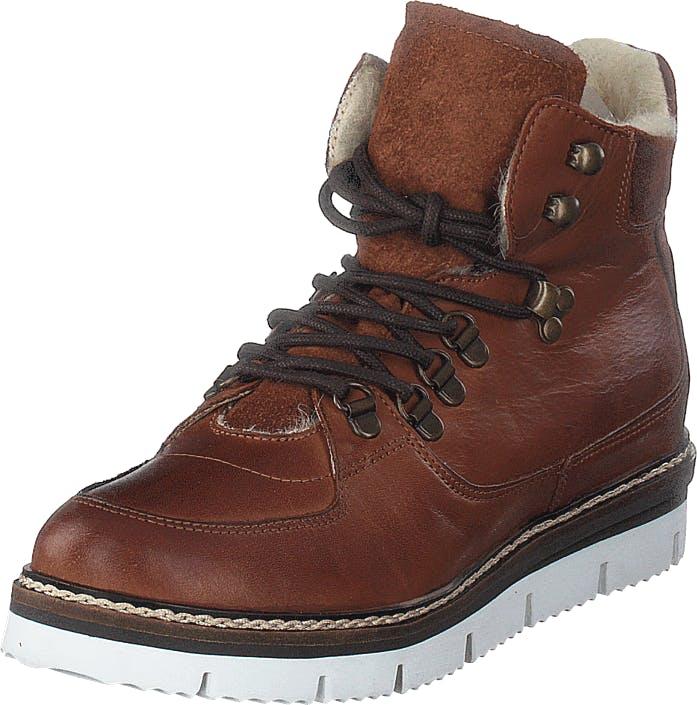 Bianco Warm Hiking Boot Jas18 Cognac, Kengät, Bootsit, Kengät, Ruskea, Naiset, 40