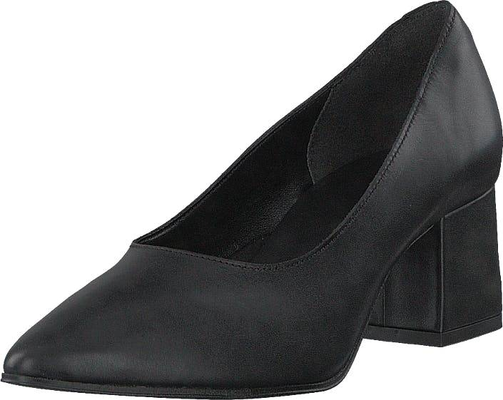 Bianco Fashion Pump Jas18 Black, Kengät, Korkokengät, Avokkaat, Musta, Naiset, 37