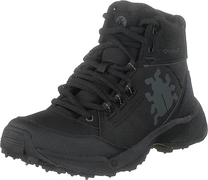 Icebug Lien W Bugrip® Black, Kengät, Bootsit, Kengät, Musta, Naiset, 40