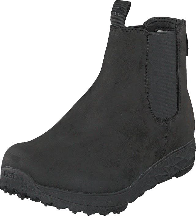 Icebug Wander W Bugrip® Black, Kengät, Bootsit, Chelsea boots, Musta, Naiset, 36