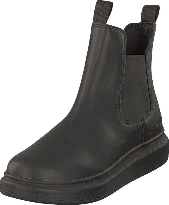 Svea Charlie High Black, Kengät, Bootsit, Chelsea boots, Ruskea, Harmaa, Naiset, 37