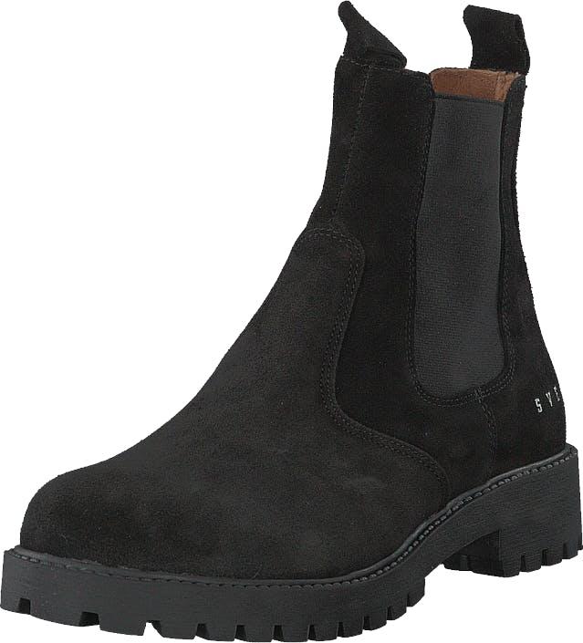 Svea Chris Black, Kengät, Bootsit, Chelsea boots, Musta, Naiset, 39