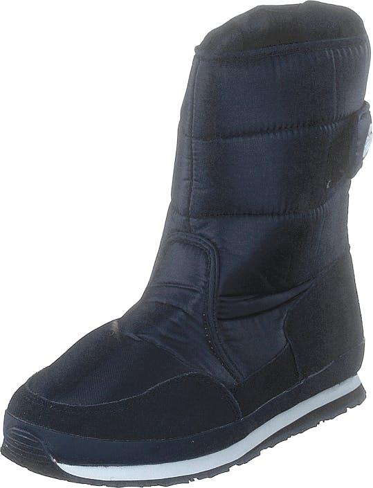 Rubber Duck Rd Nylon Suede Solid Navy, Kengät, Bootsit, Lämminvuoriset kengät, Sininen, Naiset, 37