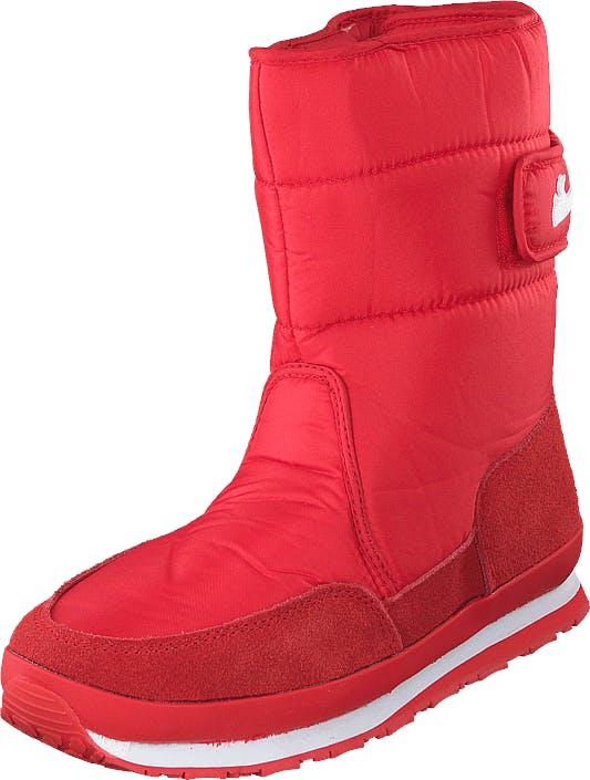 Rubber Duck Rd Nylon Suede Solid Red, Kengät, Bootsit, Lämminvuoriset kengät, Punainen, Naiset, 37