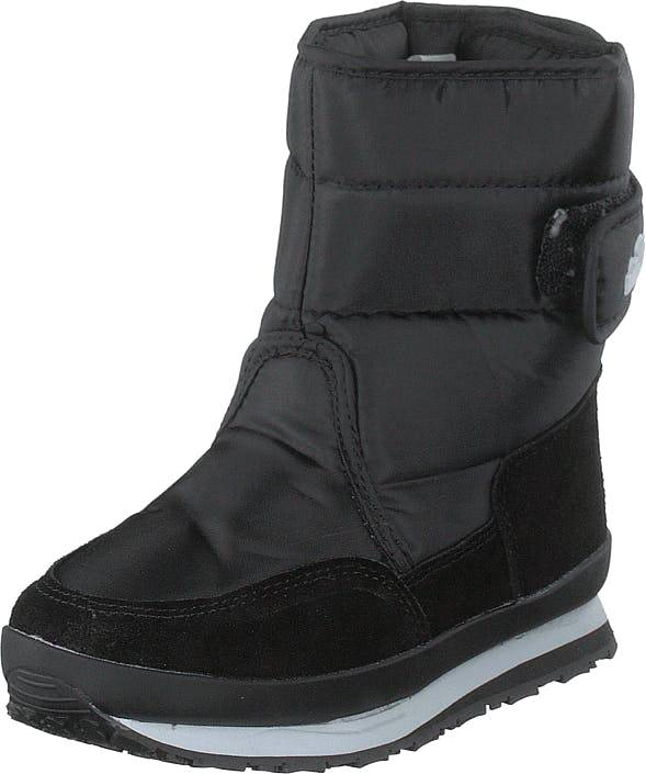 Rubber Duck Rd Nylon Suede Solid Kids Black, Kengät, Bootsit, Lämminvuoriset kengät, Musta, Lapset, 27