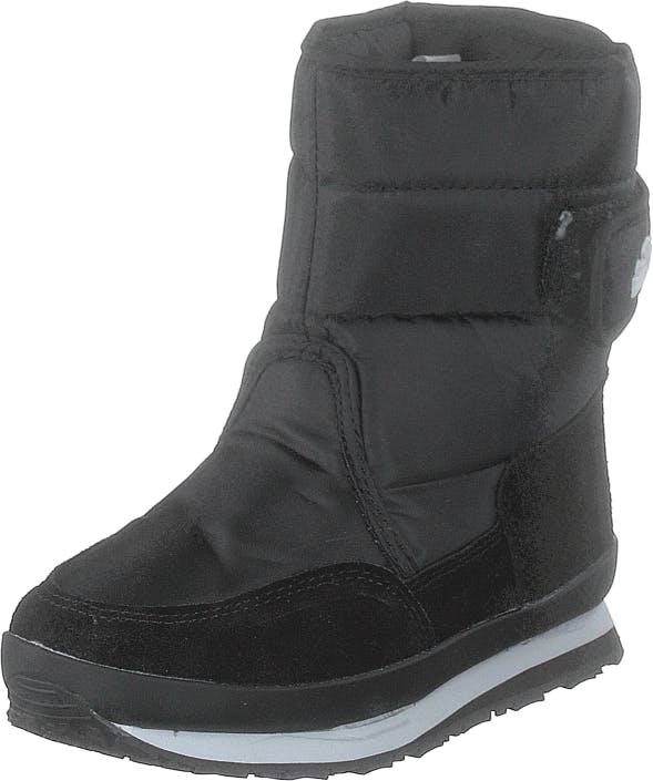 Rubber Duck Rd Nylon Suede Solid Kids Black, Kengät, Bootsit, Lämminvuoriset kengät, Musta, Lapset, 24