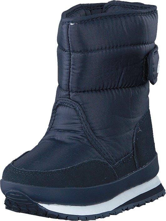 Rubber Duck Rd Nylon Suede Solid Kids Navy, Kengät, Bootsit, Lämminvuoriset kengät, Sininen, Lapset, 22