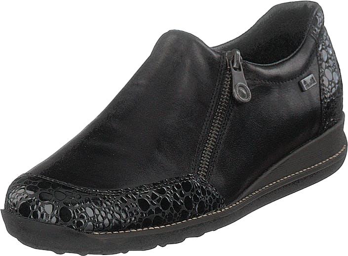 Rieker 44294-45 Granit, Kengät, Matalapohjaiset kengät, Juhlakengät, Harmaa, Violetti, Naiset, 37