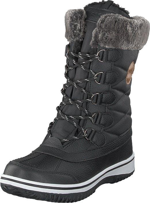 Eskimo Frosty Waterproof Black, Kengät, Saappaat ja saapikkaat, Lämminvuoriset talvisaappaat, Musta, Unisex, 38