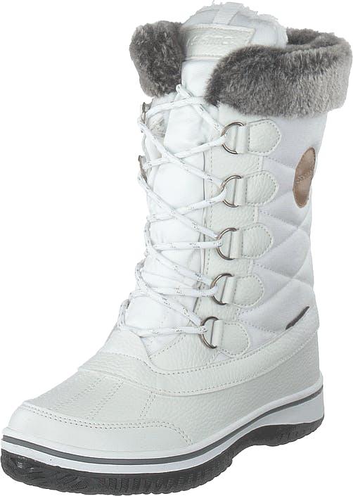 Eskimo Frosty Waterproof White, Kengät, Bootsit, Kengät, Valkoinen, Unisex, 40
