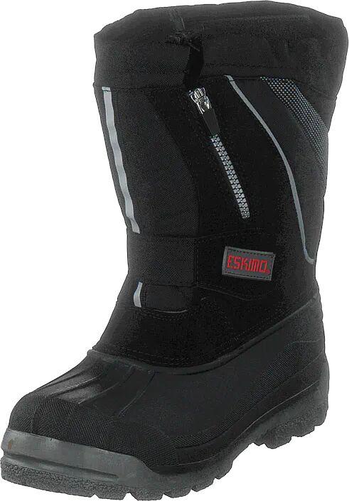 Eskimo Scooter Jr Black, Kengät, Bootsit, Lämminvuoriset kengät, Musta, Unisex, 36