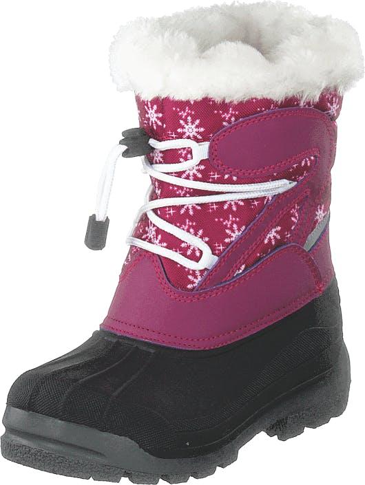 Eskimo Panda Pink, Kengät, Bootsit, Lämminvuoriset kengät, Sininen, Harmaa, Violetti, Lapset, 29