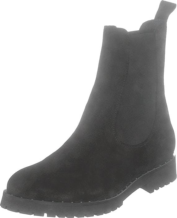 Ilse Jacobsen Lara6010 Black, Kengät, Bootsit, Chelsea boots, Musta, Naiset, 38