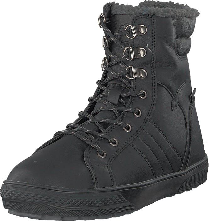 Bagheera Galena Ii Black, Kengät, Bootsit, Kengät, Harmaa, Musta, Unisex, 39