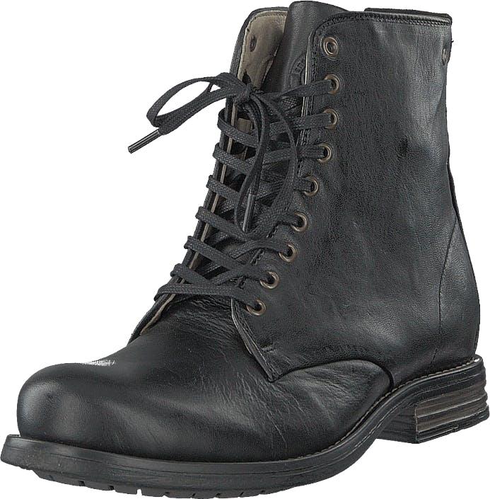 Sneaky Steve Vesper Black Eco, Kengät, Bootsit, Kengät, Musta, Naiset, 39