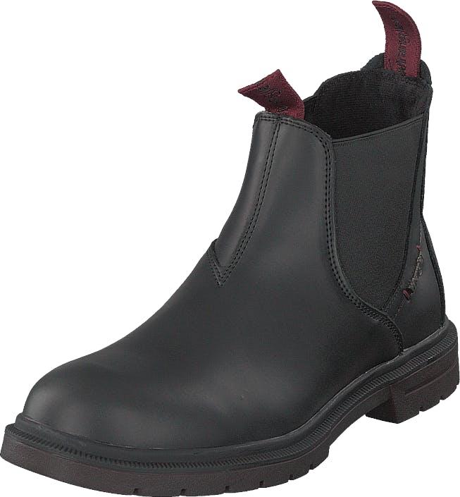 Wrangler Spike Chelsea Black, Kengät, Bootsit, Chelsea boots, Musta, Naiset, 37