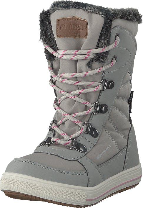 Gulliver 430-1933 Waterproof Warm Lined Grey, Kengät, Bootsit, Lämminvuoriset kengät, Harmaa, Lapset, 30