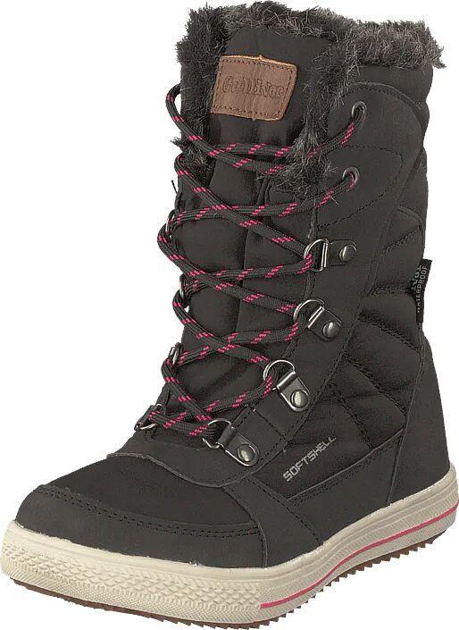 Gulliver 430-1933 Waterproof Warm Lined Black/fuchsia, Kengät, Bootsit, Lämminvuoriset kengät, Harmaa, Lapset, 28