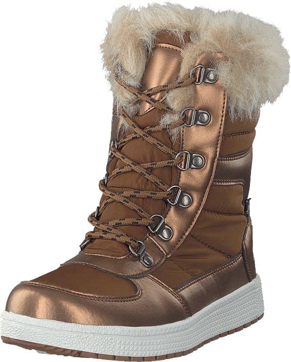Gulliver 435-0905 Waterproof Warm Lined Brown, Kengät, Bootsit, Lämminvuoriset kengät, Ruskea, Lapset, 28