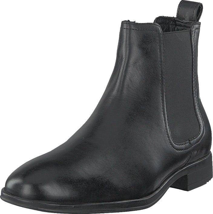 Senator 451-0774 Premium Black, Kengät, Bootsit, Chelsea boots, Musta, Miehet, 44