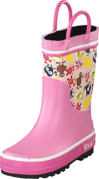 Vincent Babblarna Pink Pink, Kengät, Saappaat ja Saapikkaat, Kumisaappaat, Beige, Vaaleanpunainen, Lapset, 21