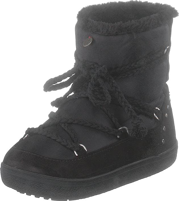 Image of Odd Molly Soft Artic Low Boot Almost Black, Kengät, Bootsit, Lämminvuoriset kengät, Musta, Naiset, 38