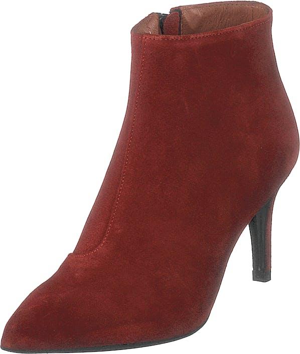 Twist & Tango Lyon Boots Rusty Red, Kengät, Saappaat ja Saapikkaat, Nilkkurit, Punainen, Naiset, 38
