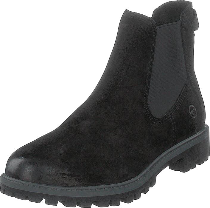 Image of Tamaris 25401-007 Black, Kengät, Bootsit, Chelsea boots, Musta, Naiset, 36